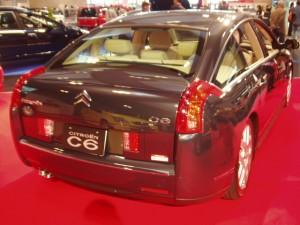 Citroen C6 リヤガラス