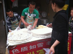 中国の商店街